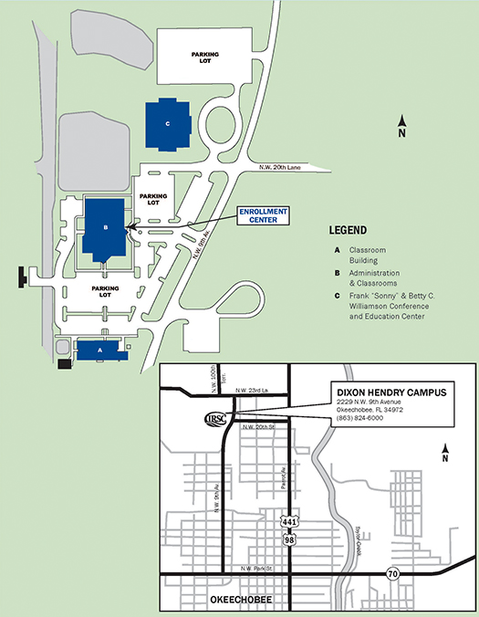 Campus Maps - Catherine Pantorno